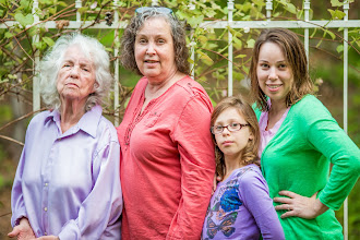 Photo: Four Generations of First Born Daughters -- Glendale, OR  #HeresToTheMoms  #MothersDay  #Moms