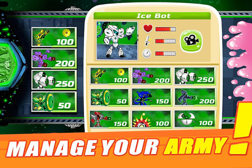 Super Fighting Robots Defense  screenshots 2