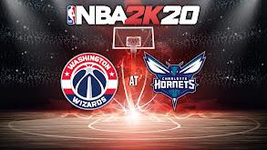 NBA2K20: Washington Wizards at Charlotte Hornets thumbnail