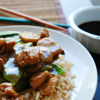 30 Minute Moo Goo Gai Pan (Gluten, dairy, egg, peanut and tree nut free)
