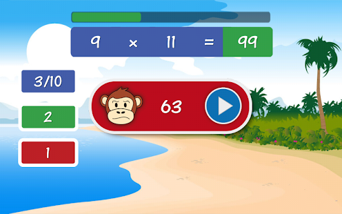 Kids - Primary School Maths and Times Tables- screenshot thumbnail