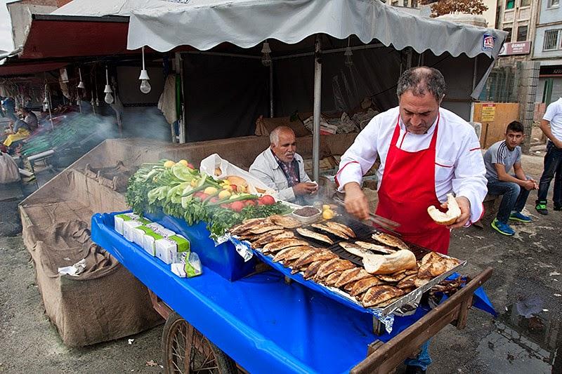 Горячие бутерброды со скумбрией