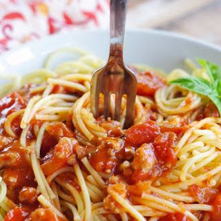 Meat Lover's Tomato Sauce.