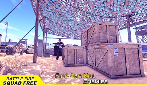 Battle Fire Squad Free Survival: Battleground Game android2mod screenshots 14
