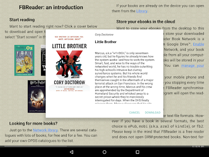 App FBReader: Favorite Book Reader APK for Windows Phone