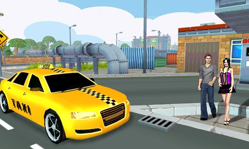 City Taxi Driving 3D 1.13 screenshots 3