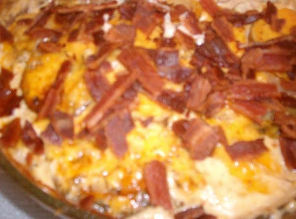 Bacon & Cheese Scalloped Potatoes Recipe