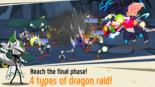 Code Triche Legend of the cartoon - idle RPG APK MOD screenshots 4