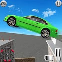 Crazy Car City Roof Jumping: Parking Games 3d icon