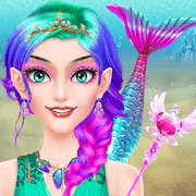Mermaid Makeup Salon - Girls Fashion Beauty