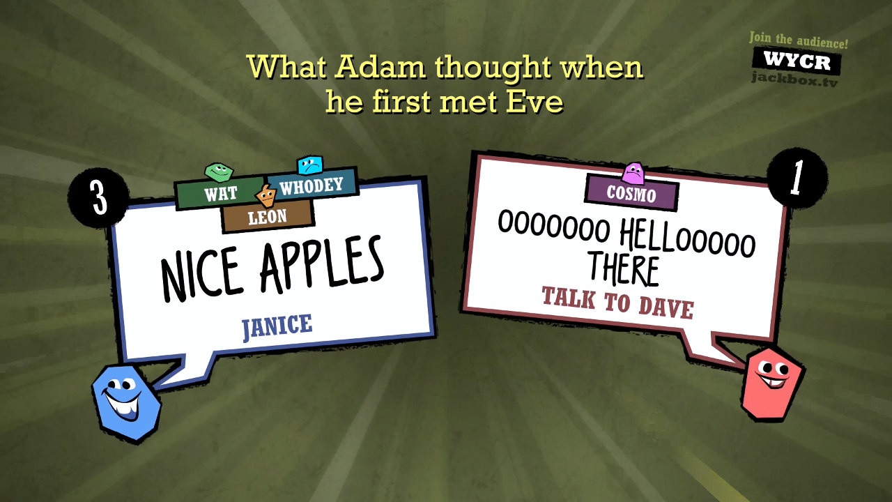 The Jackbox Party Pack 2- screenshot