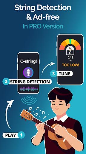 Ukulele Tuner Pocket - Pitch Perfect Uke Tuner App 1.4.5 Screenshots 4