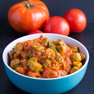 Vegetarian Okra And Tomatoes Recipes
