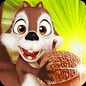 Squirrel Run 4D – Hazel Fun icon
