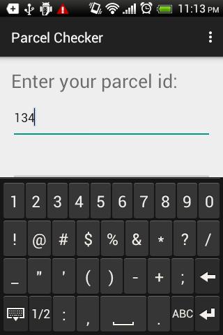 Parcel Checker