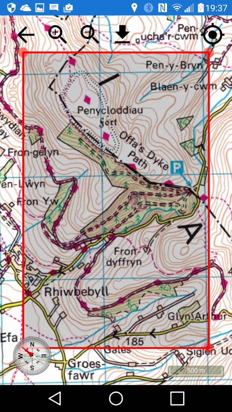ActiMap - Outdoor maps & GPS Screenshot 4