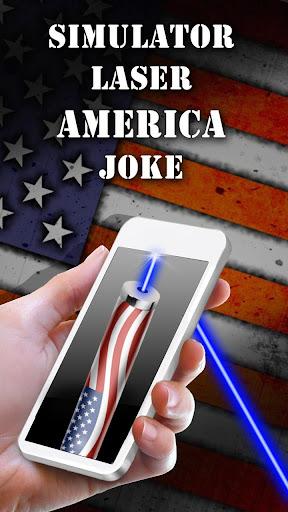 シミュレータレーザーアメリカジョーク
