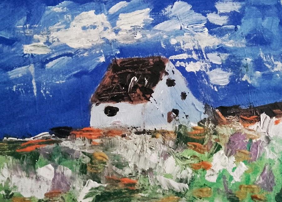 Loneliness by Vanja Škrobica - Painting All Painting