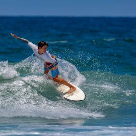 BroAm 1 by Mark Ritter - Sports & Fitness Surfing ( surf, surfer, waves, broam, moonlight beach, ocean, encinitas, california, surfng )