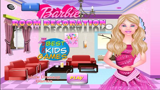 barbie room decoration screenshot thumbnail - Barbie Room Decoration Games