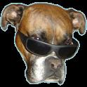 Dog vision icon