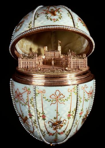 House of Fabergé - Gatchina Palace Egg