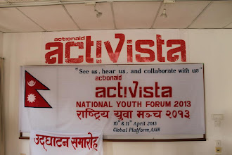Photo: 4.11.13 ActionAid in Nepal