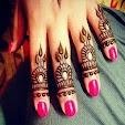 Fingers Mehndi Designs Styles