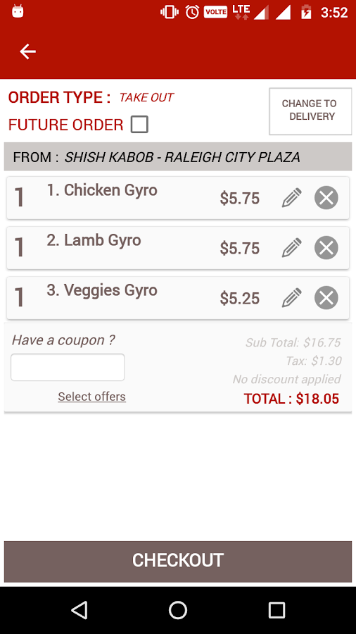 Shish Kabob - City Plaza- screenshot