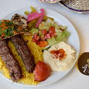 Kebab Orfali Plate (2 Skewers)