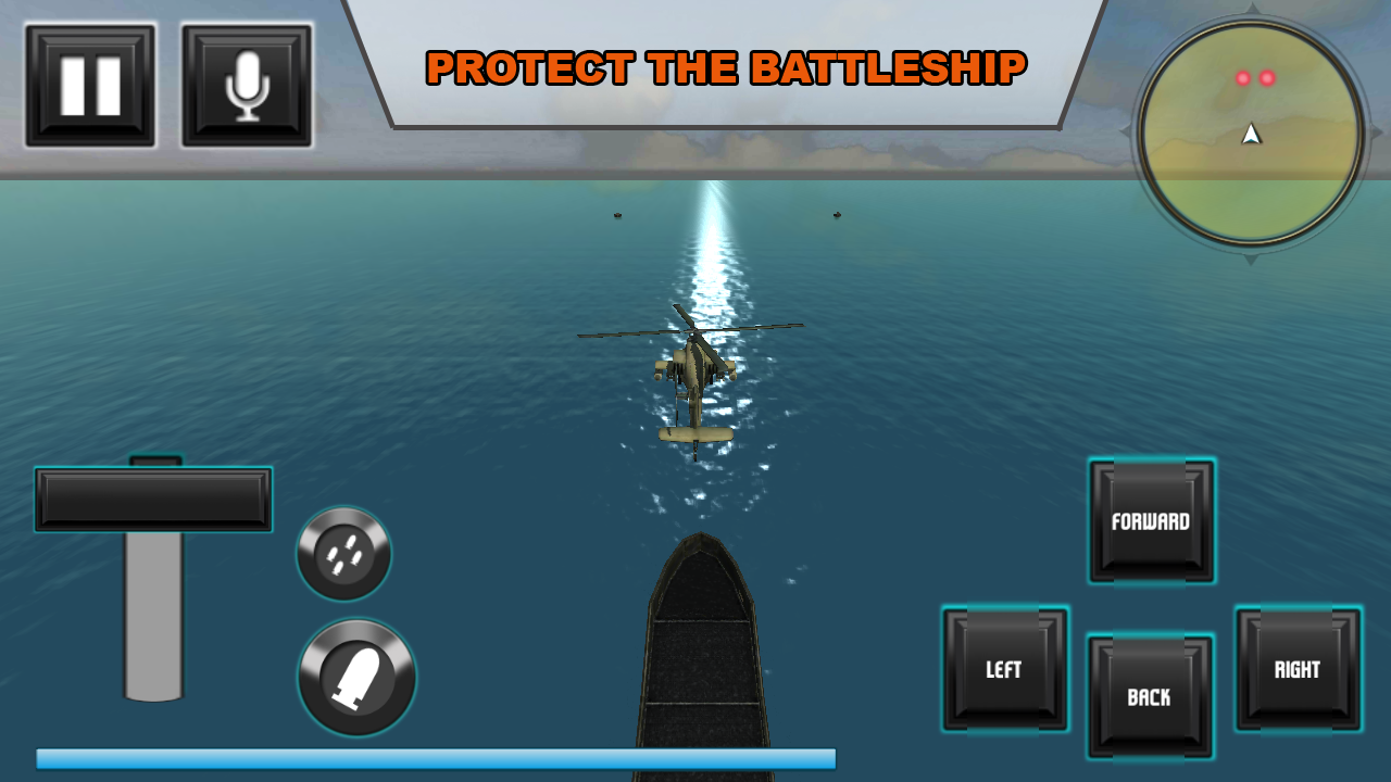 navy helicopter strike team 3D- screenshot