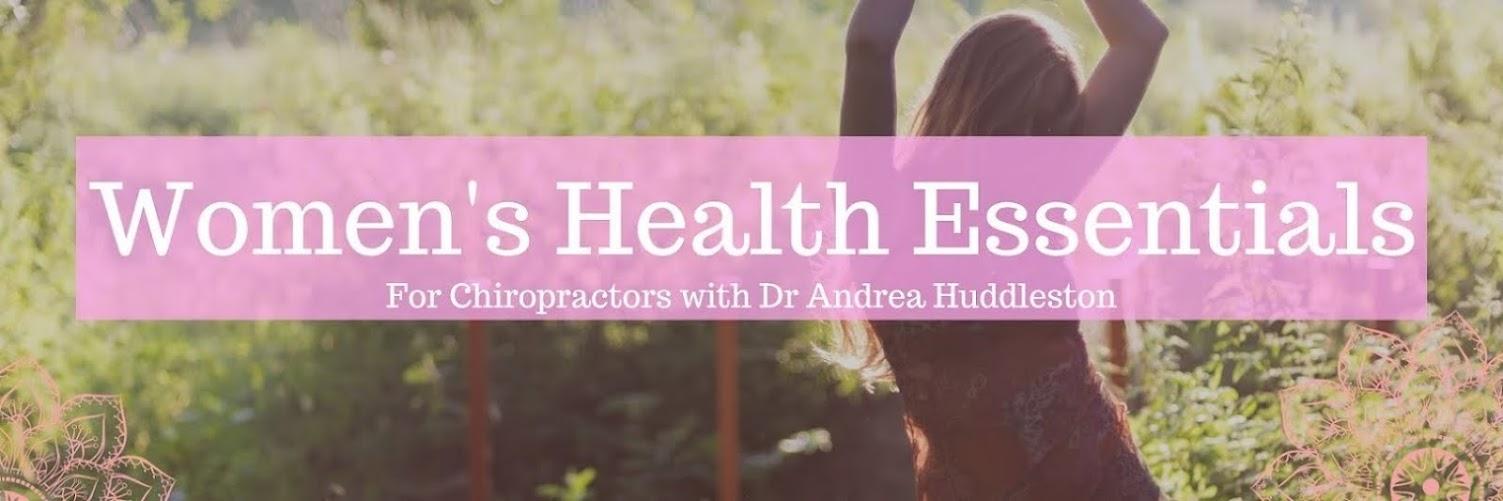 Women's Health Essentials for Chiropractors