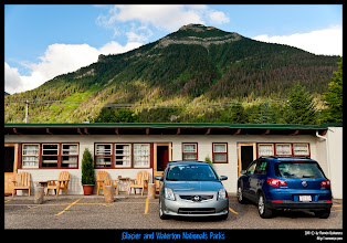 Photo: Waterton National Park: este era nuetro motelito.