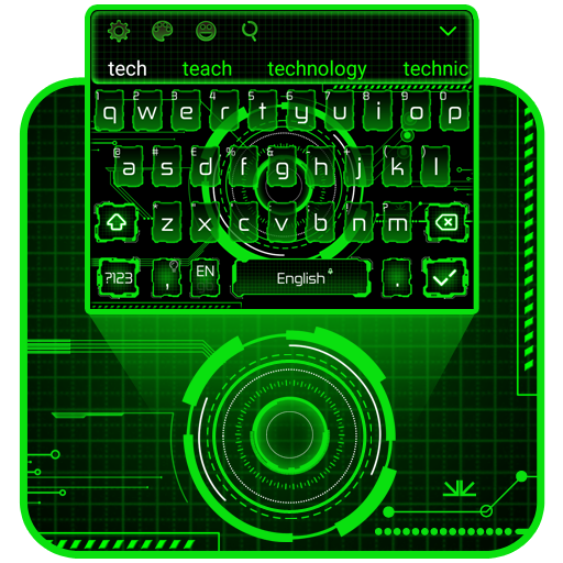 Green Tech Keyboard