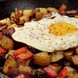The Perfect Meat and Potato Hangover Hash