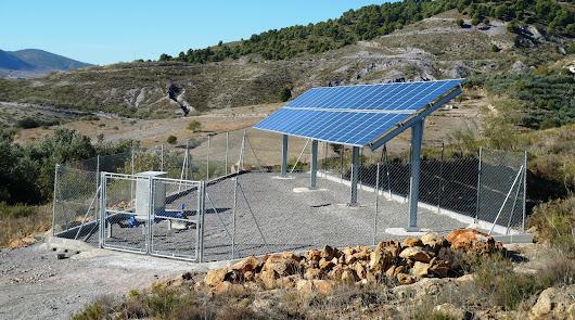 Campos solares para abastecer de agua a los pueblos del interior
