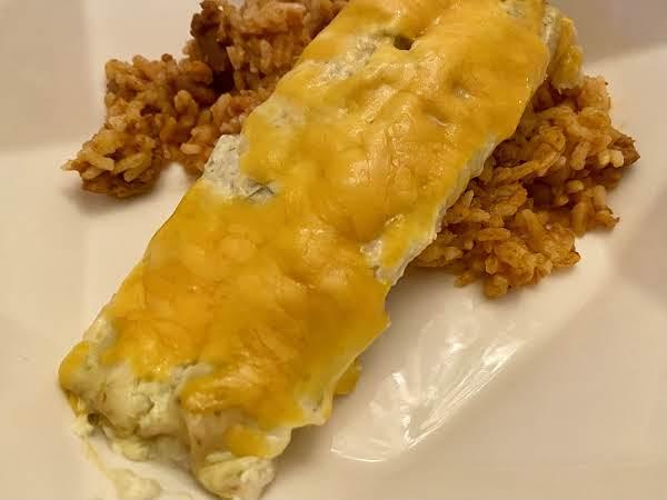 4-ingredient Chicken Taquito Enchiladas