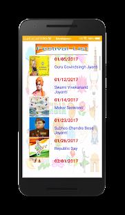 Panchang Calendar - náhled