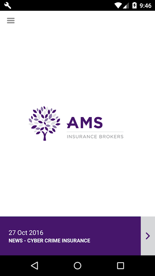 AMS Insurance Brokers- screenshot