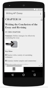 writing ap english essay guide android apps on google play  writing ap english essay guide screenshot thumbnail
