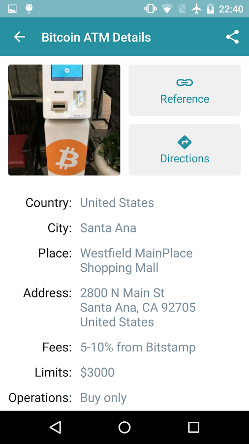 Bitcoin ATM Map – CoinATMRadar- screenshot