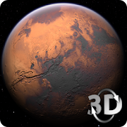 Mars in HD Gyro 3D Free‏