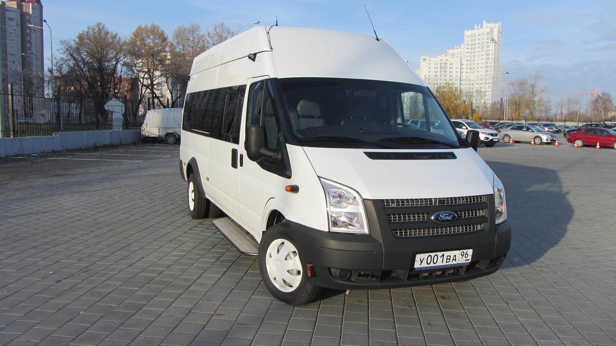 Ford Transit в Екатеринбурге