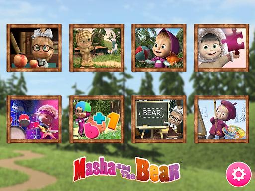 Masha et l'ours. Jeux éducatifs  captures d'écran 2