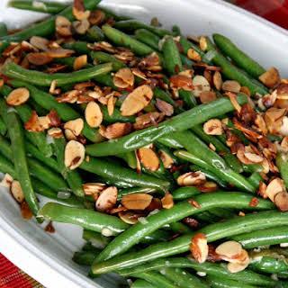 Green Beans Almondine.