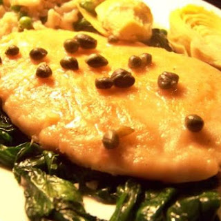 Light and Zesty Chicken Piccata