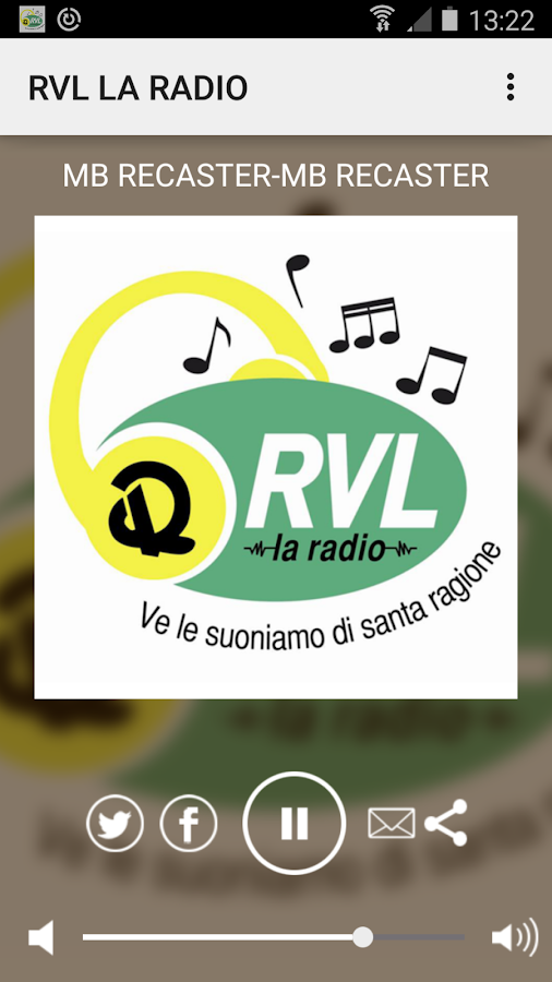 RVL LA RADIO- screenshot