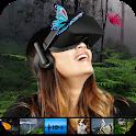 VR Video 360 Nature icon