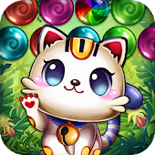 Bubble Pop Mania - Kitty Cat Adventures Android APK Download Free By Bubble Quest & Free Bubble Pop By Difference Games