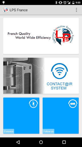 LPS France - Contact ir System